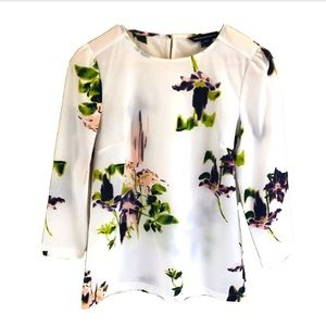 New French connection waterflower blouse
